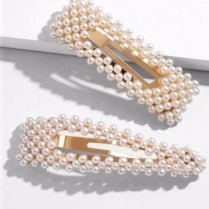 Accessories - Pearl Hair Clips
